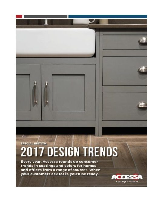 2017 design trends coatings and colors for home and for Office design trends 2017