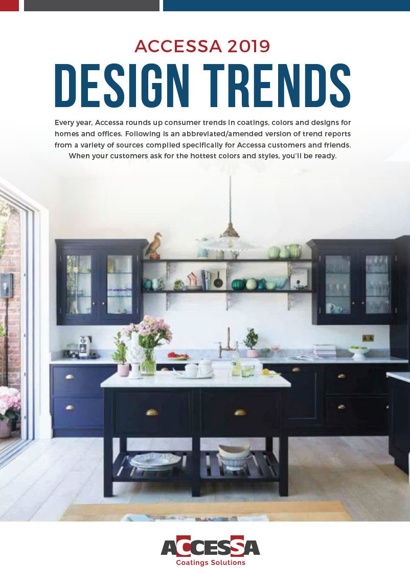 2019 Design Trends Interior Coatings Colors And Styles